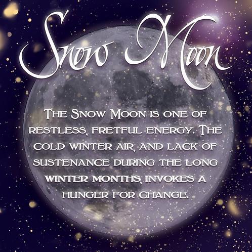 Snow Full Moon Guided Meditation