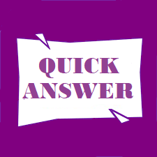 Quick Answer Service