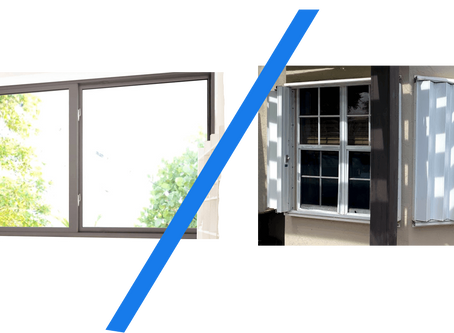 Hurricane Windows vs. Hurricane Shutters