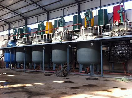 Concrete admixture production line