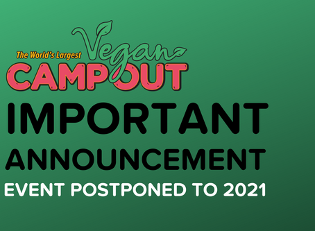 Event Postponed To 2021