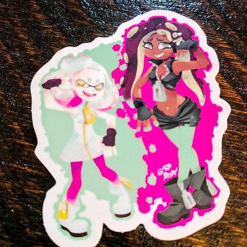 Pearl and Marina sticker