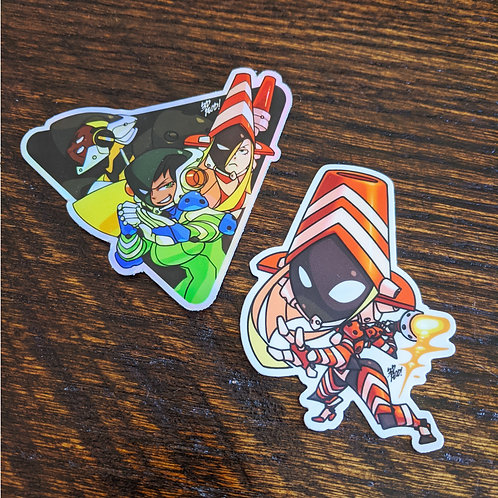 Counter Isekai Corps Stickers