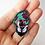 Thumbnail: DAMAGED Rainbow Metal + Glow Enamel Pin