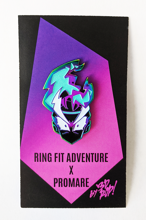 RING FIT X PROMARE Rainbow pin