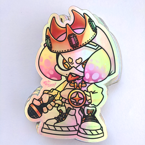 Pearl Holographic Sticker
