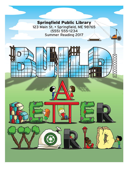Build A Better World Coloring Book