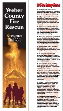 Fire Safety (Bookmarks)