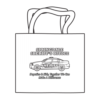 Sheriff's Department/Office Coloring Tote