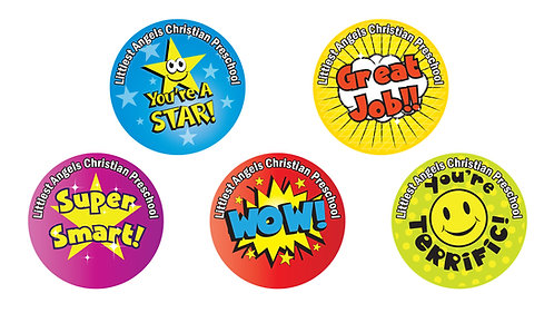Ways To Praise Your Child Stickers
