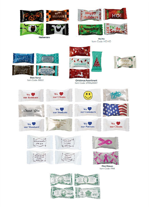 Stock Wrapper Mints (Examples)