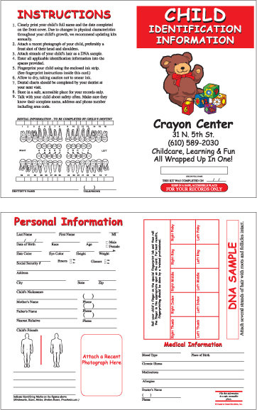 Fingerprint Card (Daycare)