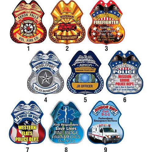 Full Color Digital Plastic Badge