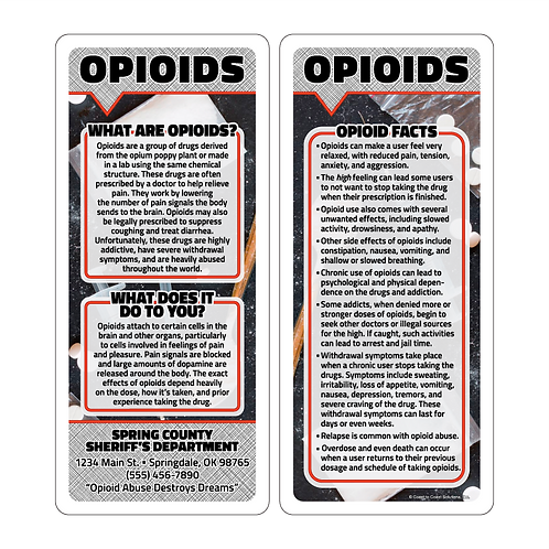 Opioids Q & A Cards