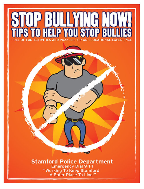 Stop Bullying Coloring Book