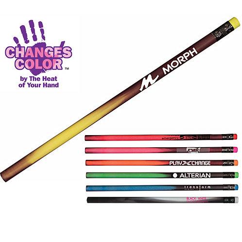 Black Mood Pencils with Neon Erasers