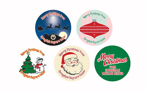 Christmas Assortment Stickers