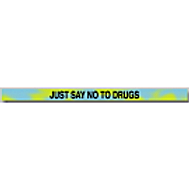 Just Say No To Drugs Silicone Bracelet