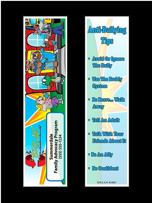 B.R.E.A.K. - Bullying Awareness Bookmarks