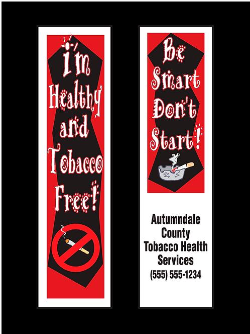 Tobacco Free Bookmarks