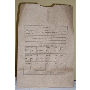 Paper Evidence Bag