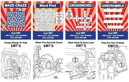 Activity Cards (EMS, EMT, Paramedic)