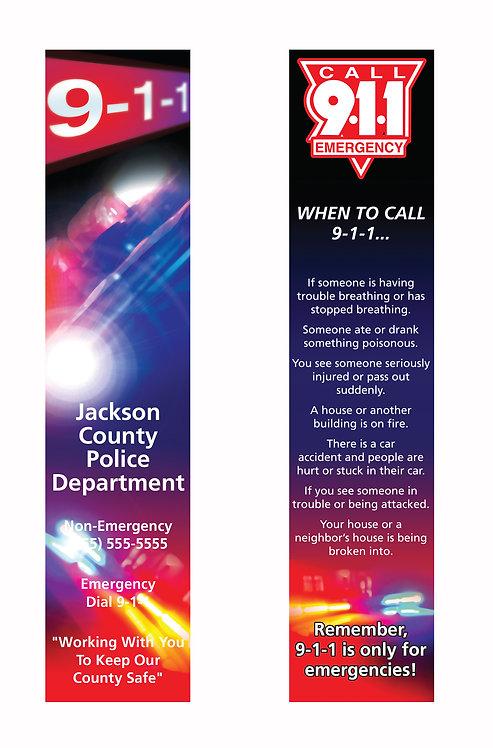 911 Bookmark