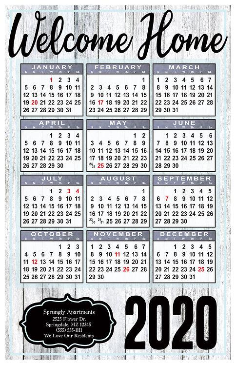 Farmhouse Wall Calendar