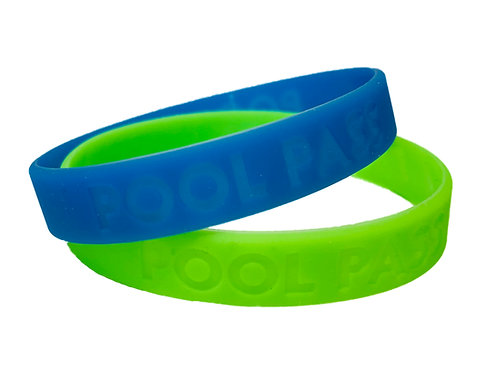 Poll Pass Silicone Bracelet