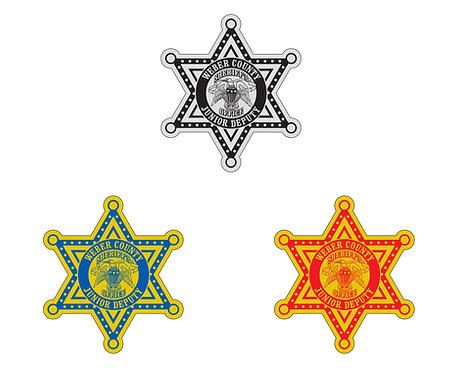 Star (6-pointed) Stickers