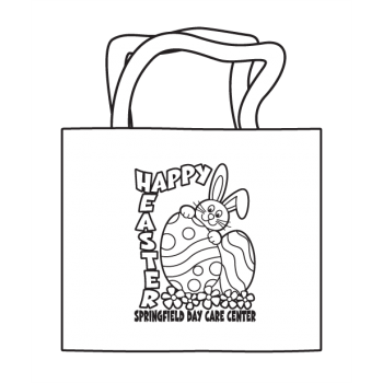 Easter Coloring Tote
