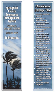 Hurricane Safety (Bookmarks)
