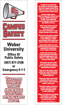 Campus Safety (Bookmarks)
