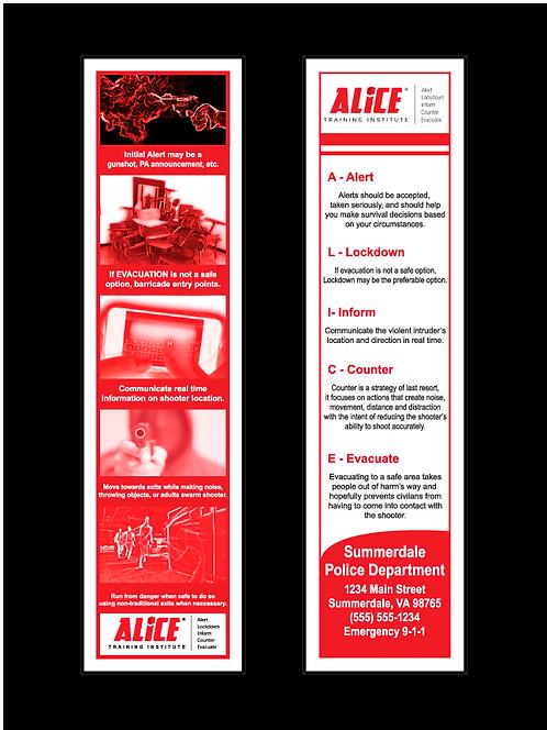 ALICE Bookmarks