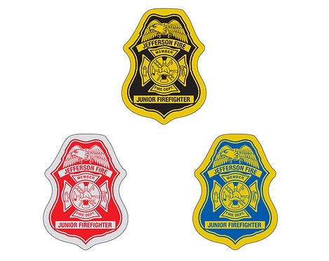Badge Shaped Sticker