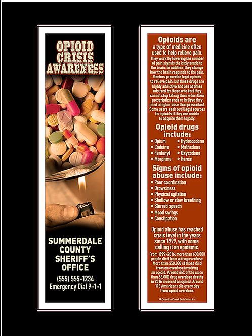 Opioid Crisis Awareness Bookmarks