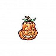 Pumpkin Temporary Tattoo