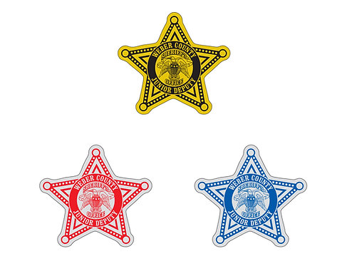 Star (5-pointed) Stickers