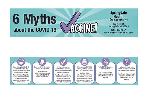 6 Myths About The COVID-19 Vaccine Bookmark