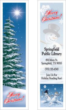 Christmas Holiday Scene Bookmark