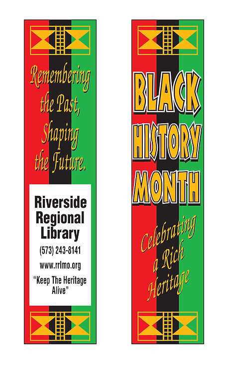 Celebrate Rich Heritage (Black History Month) Bookmark