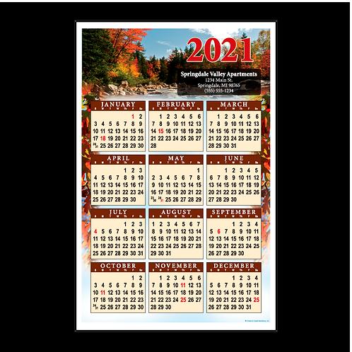 Scenic Tree Wall Calendar