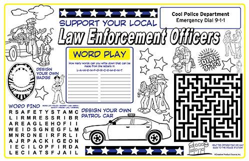 Police Activity Sheet