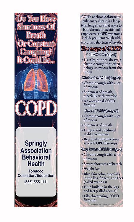 COPD Bookmark