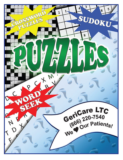 Adult Puzzle Books