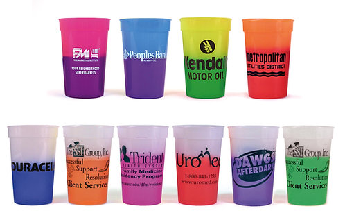 12 oz. or 17 oz. Smooth Mood Stadium Cups