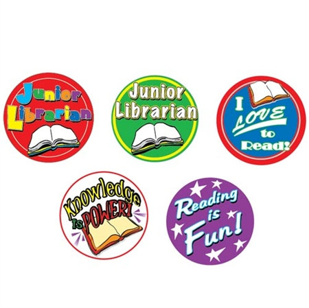Generic Library Stickers