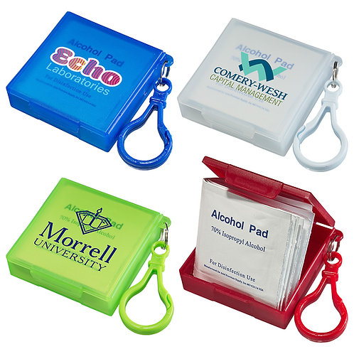 Sanitizing Wipes with Carabiner