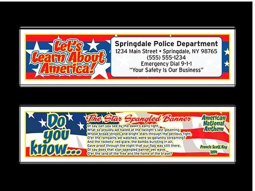 Star Spangled Banner Bookmarks