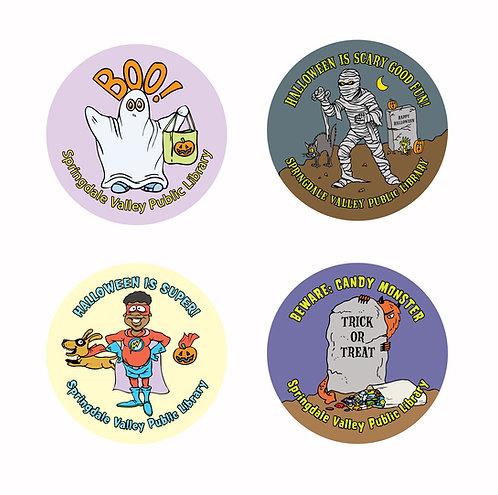 Halloween Assortment Stickers